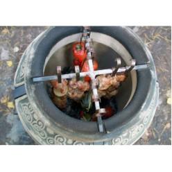 Тандыр «Сармат Есаул» 8 шампуров