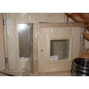 Форточка для бани и сауны  DoorWood  30х30см.