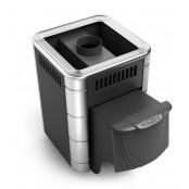 Печь банная Оса Carbon ДА антрацит НВ (ДТК либо КТК), 4-9 м.куб