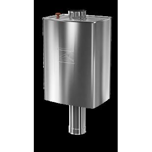 бак для банной печи водогрейный титан Парус-50П, 50 литров
