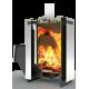 Банная печь  «Сахара»  16 ЛК  на дровах и топливном брикете RUF