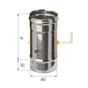 Шибер поворотный (430/0.8 мм) Ф120