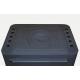 Печь отопительно-варочная каминного типа Бавария с плитой и теплообменником 9 кВт