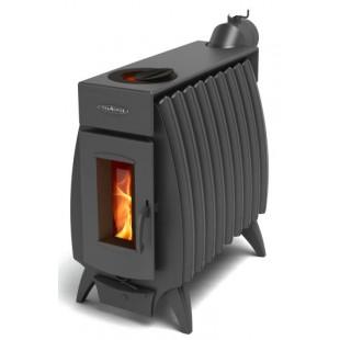 печь на дровах и брикете Огонь-батарея мощность  9 кВт
