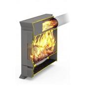 Печь отопления Теплодар  Матрица-100 с варочной плитой