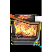 Печь отопления Теплодар  Метеор-150 с варочной панелью