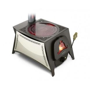 дровяная отопительно-варочная печь Термофор Селенга