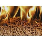 Пеллеты (топливные гранулы), фасованные в мешки по 15 и 20 кг