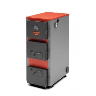 Твердотопливный котел отопления на угле, дровах и древесном топливном брикете RMP стандарта RUF