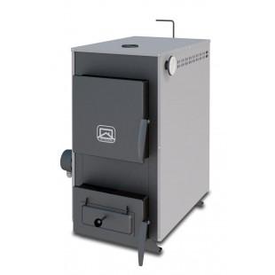 Твердотопливный котел отопления Теплодар Куппер Практик-14, 14 кВт  на дровах, угле и топливном брикете RUF