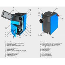 Котел отопления ZOTA «Тополь -42М», 42 кВт