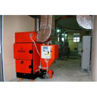 Комплексное решение по отоплению и приготовлению горячей воды табачная фабрика п.Коктебель