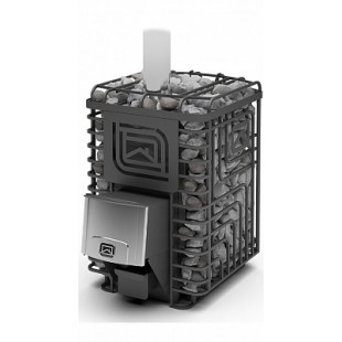 Банная печь «Сибирский утес» 20 ЛП ПРОФИ, 10-20 м.куб, масса камней 180 кг