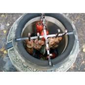 Тандыр «Кочевник» 8 шампуров
