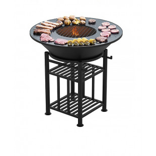 Гриль садовый Везувий Легенда  для приготовления стейков, мяса птицы и рыбы