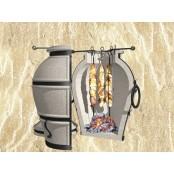 Тандыр «Сармат Аладдин mini» 12 шампуров стойка подставка в комплекте