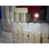Брикет топливный RMP стандарт RUF 500 кг.  в пачках