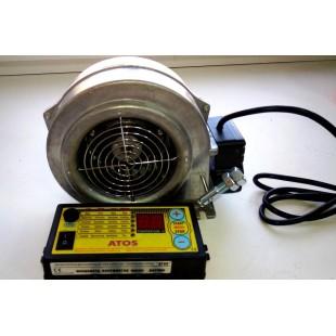 Контроллер твердотопливного котла Atos + нагнетательный вентилятор  WPA 06