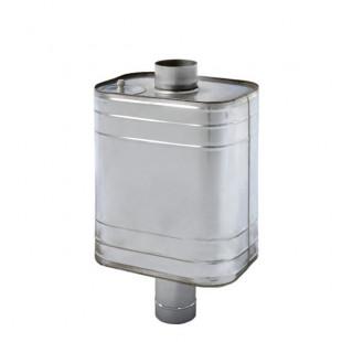 Бак для банной печи водогрейный  -70 литров