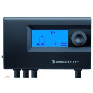 Контроллер управления циркуляционным насосом и вентилятором  твердотопливного котла
