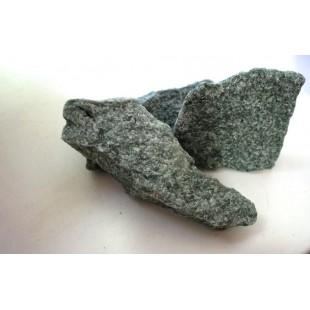 Камень для бани и сауны жадеит колотый, печи-каменки дровяные и электрические