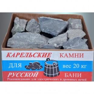 Камень для бани и сауны талькохлорит колотый, печи-каменки дровяные и электрические