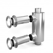 Отопитель натрубный-1, Ø 115, 1/0,5 мм, 0,65 м