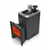 Банная печь Гейзер 2014 Inox Витра 8-18 м.куб