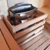 Электрокаменка для сауны Harvia Vega BC-45 Steel 3-6 м.куб