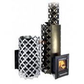 Печь для бани Арабеска Inox объём парной 8-18 м.куб