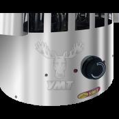 Электрическая печь  «ЭКМ-7 Сфера» -7 кВт для сауны и бани, от 7 до 11 м.куб., с пультом управления.