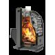 Банная печь  «Каскад» 18 ЛП, 10-18 куб.м. на дровах и топливном брикете RUF