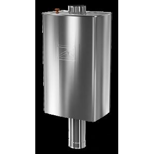бак для банной печи водогрейный титан Парус-60П, 60 литров