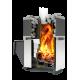 Банная печь  «Русь» 18 Л ПРОФИ на дровах и топливном брикете RUF