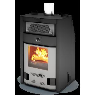 Банная печь  Теплодар  «Сиеста»  на дровах и топливном брикете RUF