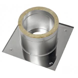 ППУ  Ø 150 мм «Corax» нержавеющая сталь (430) толщина 0,5 утеплена базальтовой минватой.