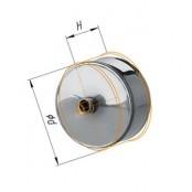 Конденсатоотвод для трубы (430/0.5 мм) Ф120 внеш.