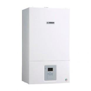 Двухконтурный газовый котел отопления  Bosch WBN6000-24C RN 24 кВт, с закрытой камерой сгорания (турбо)
