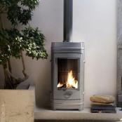 Французская печь-камин CHATEL Invicta, 8 кВт