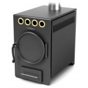 Печь отопительная Нормаль-2 Турбо антрацит, ТВ 8 кВт