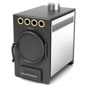 Печь отопительная Нормаль-2 Турбо антрацит, НК, ТВ 8 кВт