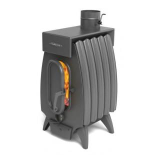 печь отопления Огонь-батарея ЛАЙТ 5 антрацит до 50 м.кв.