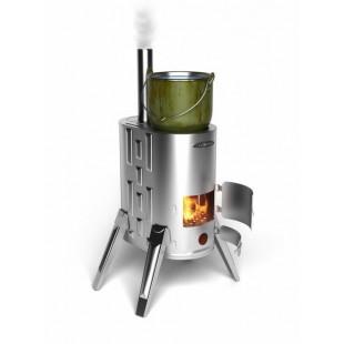 печь отопления Термофор ДУПЛЕТ-1 INOX