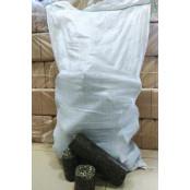 Топливные брикеты из лузги подсолнечника 1 мешок.