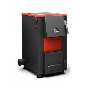 твердотопливный котел отопления ОВК-18, 18 кВт на угле,  дровах и топливном брикете RUF