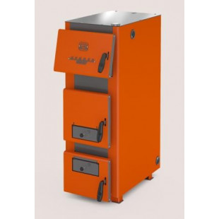 Твердотопливный котел отопления Куппер ПРО-36 (2.0), мощность 36 кВт  на дровах, угле и древесном топливном брикете RMP
