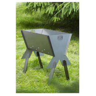 Мангал для пикника «Теплодар» предназначен для приготовления пищи на углях