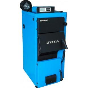 Купить в Симферополе полуавтоматический котел отопления  Zota «Magna»-100 на угле, дровах, топливном брикете RUF
